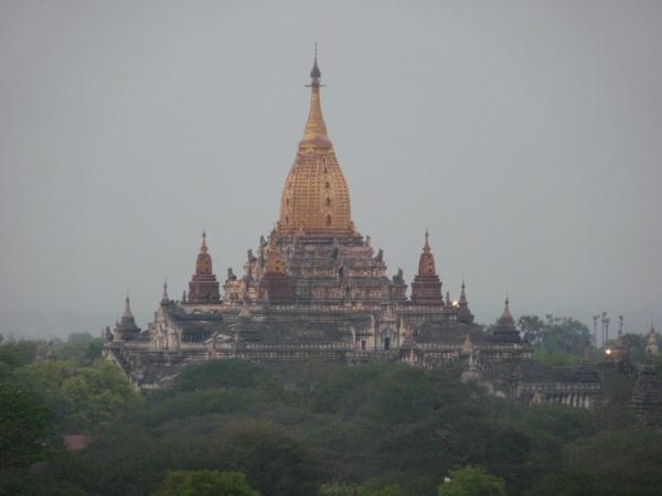 Birmanie - Bagan : Le temple d'Ananda