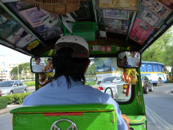 Thaïlande - Bangkok : Tuk-Tuk