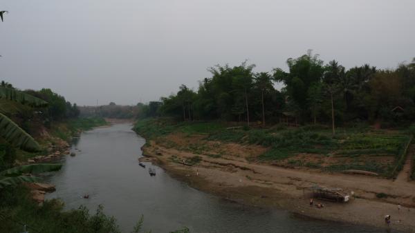 Nord Laos - Luang Prabang : La Nam Khan