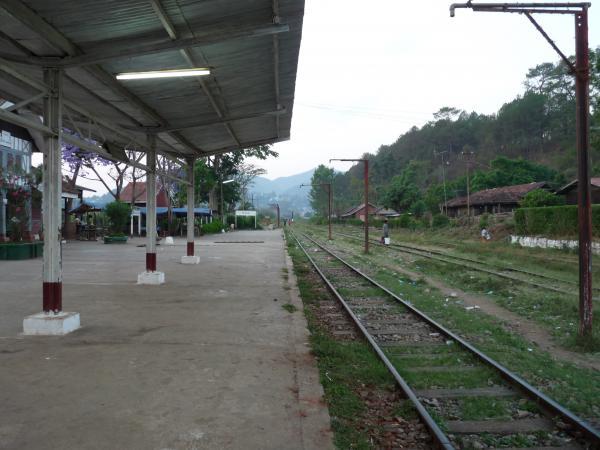 Birmanie - Kalaw : La gare