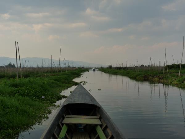 Birmanie - Lac Inle : Retour vers Nyaungshwe