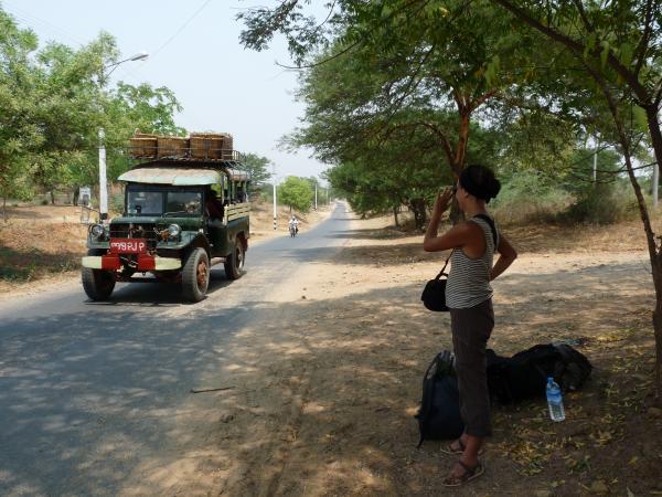 Birmanie - Bagan : En attendant le bus