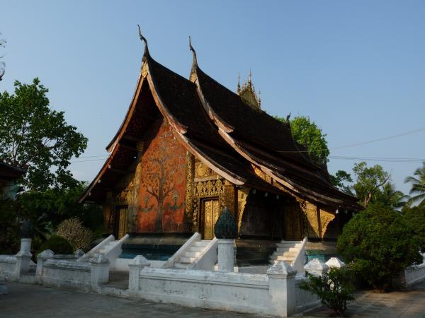 Nord Laos - Luang Prabang : Vat Xieng Thong