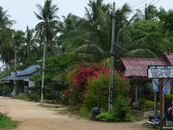 Thaïlande - Koh Phangan : Village de Chaloklum
