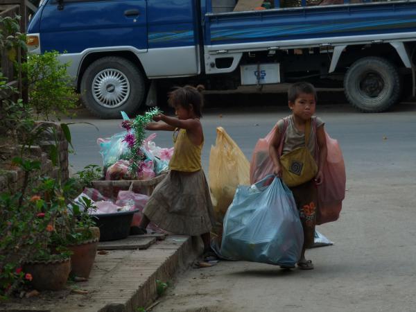 Nord Laos - Luang Prabang : Retour à la réalité