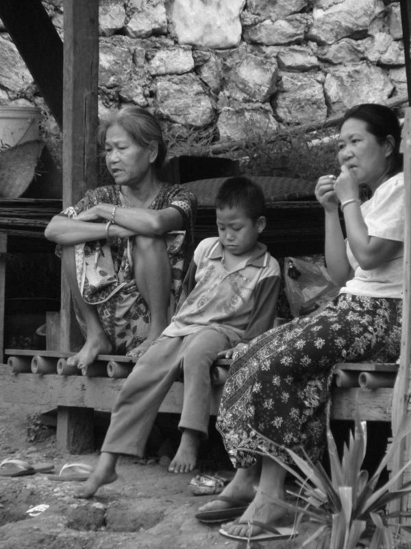 Nord Laos - Luang Prabang : Tranches de vie